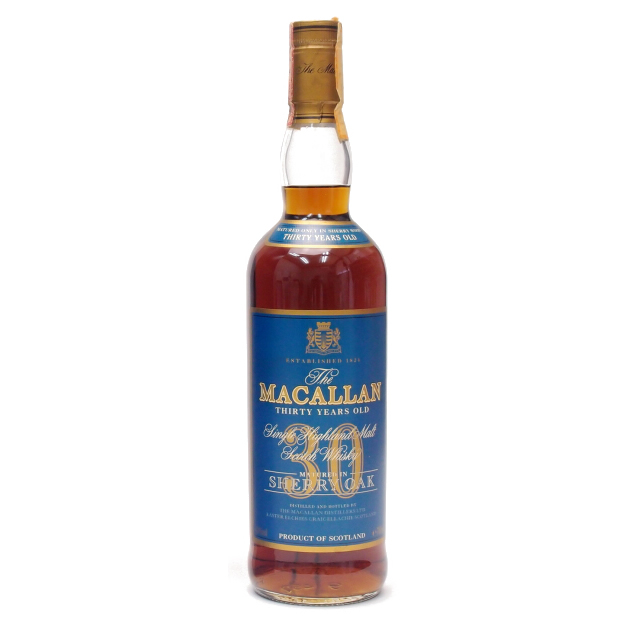 ザ・マッカラン 30年 ブルーラベル
