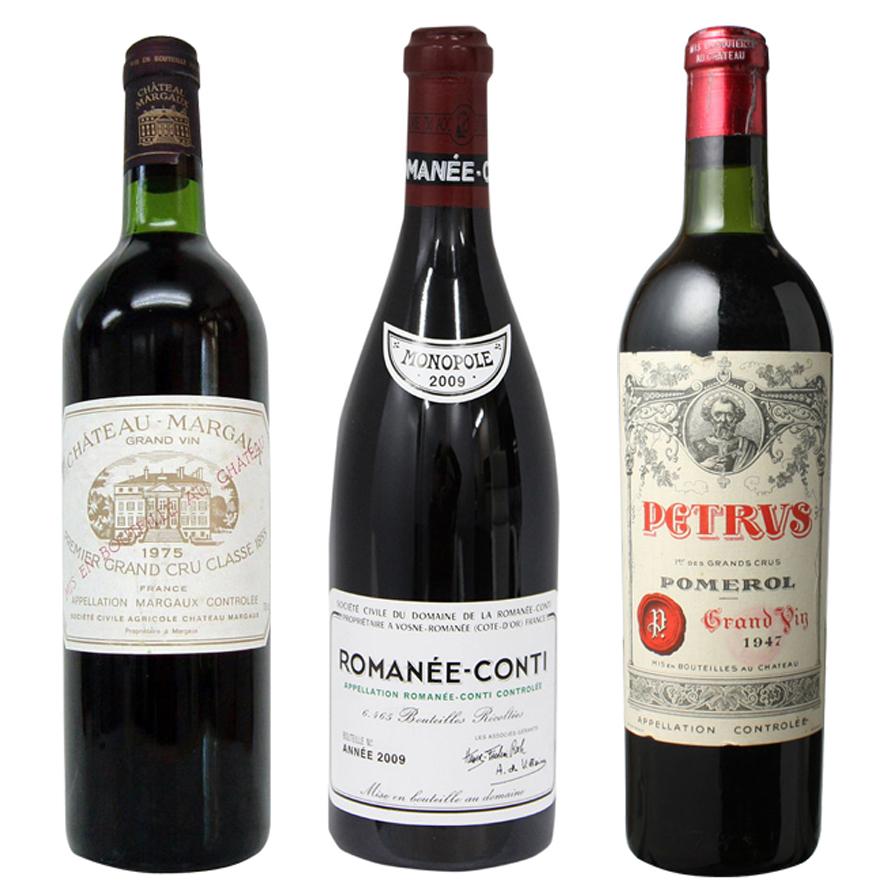 ワイン買取一覧